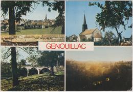 23  Genouillac  Vue Generale - Autres Communes