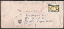 AE191     Togo 1995 Cover To Italy, Traditional Houses, YV 1307 - Togo (1960-...)