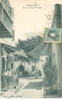 POSTAL   -CASABLANCA  -MARRUECOS  -RUE DU CONSOLAT D'ESPAGNE - Casablanca