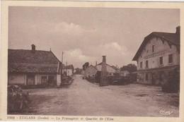 25 - ÉTALANS  La Fromagerie Et Quartier De L'Ejus - France
