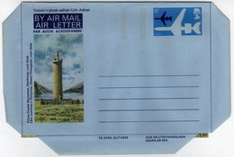 GB Gran Bretagna 1974 Air Letter Prince Charles Monument Glenfinnan Loch Shiel Mint - Interi Postali