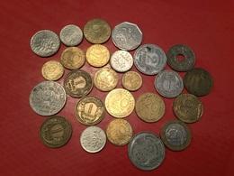 LOT DE 25 Pièces Françaises Voir Le Scan - Monedas & Billetes