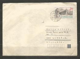 POSTA - CSSR  -  Traveled Cover To BULGARIA  - D 3455 - Posta