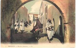 POSTAL   -BIZERTE  -TUNEZ  -RUE DU AÏSSAOUAS - Túnez