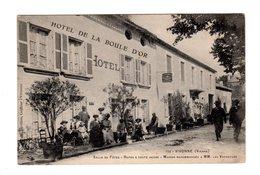 CPA 86 - Vivonne ( Vienne ) Salle De Fêtes - Repas à Toute Heure , Hôtel De La Boule D'or - Vivonne