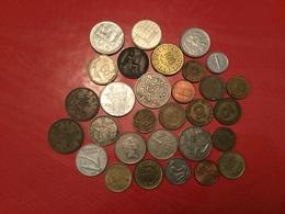 LOT DE 30 Pièces étrangères Voir Le Scan - Monedas & Billetes