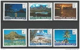 """Polynésie YT 132 à 137 """" Paysages """" 1979 Neuf** - Französisch-Polynesien"""