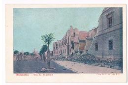 Cartolina - Postcard / Non Viaggiata - Unsent / Messina – Via S. Martino - Messina