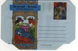 GB Gran Bretagna 1975 Air Letter Natale Christmas Mint - Interi Postali