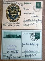 DR Ganzsachen 8 Pfg. Ebert Oberschleßien, 8 Pfg. Ebert Gebraucht Stempel Berlin Weißensee/Quedlingburg - Deutschland