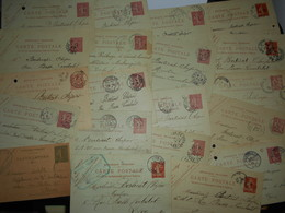 France Collection , 20 Entiers Postaux - Francia