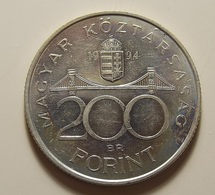 Hungary 200 Forint 1994 Silver - Hongrie