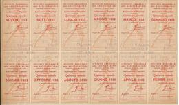 ISTITUTO NAZIONALE ASSICURAZIONI 1933 - Vecchi Documenti