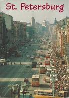 Leningrado (Russia, URSS, CCCP) San Pietroburgo, Nevsky Prospekt, Neva Avenue - Russia