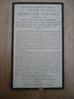 Lokeren Overmere1868 1942 Serafien Pieters - Devotieprenten