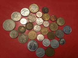 LOT DE 30 Pièces étrangères Voir Le Scan - Coins & Banknotes