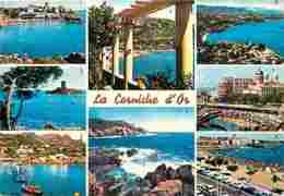 83 - Var - La Corniche D'Or - Multivues - Voir Scans Recto-Verso - Other Municipalities