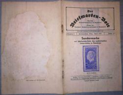 THE STAMP MESSENGER- DER BRIEFMARKEN BOTE MAGAZINE, GERMAN, HERMANNSTADT-SIBIU, NR 3/4, FEBRUARY 1944, ROMANIA - Riviste