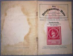THE STAMP MESSENGER- DER BRIEFMARKEN BOTE MAGAZINE, GERMAN, HERMANNSTADT-SIBIU, NR 5/6, FEBRUARY 1944, ROMANIA - Riviste