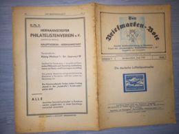 THE STAMP MESSENGER- DER BRIEFMARKEN BOTE MAGAZINE, GERMAN, HERMANNSTADT-SIBIU, NR 6, JUNE 1942, ROMANIA - Riviste