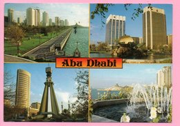 Postcard - Abu Dhabi, 1989., United Arab Emirates ( To Yugoslavia) - United Arab Emirates