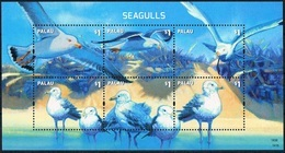 Bloc Sheet Oiseaux  Birds Seagulls Neuf MNH ** Palau 2014 - Mouettes