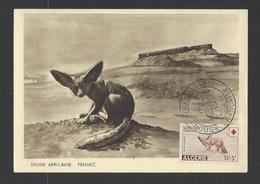 ALGERIE.  N° 343/344  Oblitération 1er Jour.  6-4-1957 - Algérie (1924-1962)