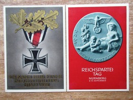 DR Ganzsachen Hitler 6+19 Pfg. SST Berlin, 6 Pfg. Festpostkarte Reichsparteitag Nürnberg 1939 Ungebraucht - Deutschland