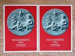DR Ganzsachen 6 Pfg. Festpostkarte Reichsparteitag Nürnberg 1939 Ungebraucht - Allemagne