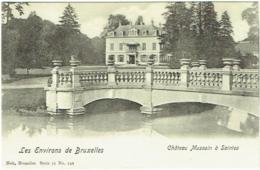 Saintes. Château Mussain à Saintes. Les Environs De Bruxelles. - Tubeke