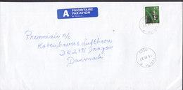 Norway A PRIORITAIRE Par Avion Label TVEITA F (Oslo) 1997 Cover Brief COPENHAGEN AIRPORT Dragør Denmark - Norwegen