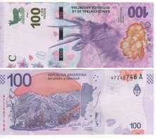 """ARGENTINA    New 100 Pesos   """"JUST  ISSUED""""     Pnew  2018 - Argentine"""