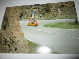 PHOTO SIMCA 1000 RALLYE 2  15x10  Course De Cote  Saint Jean Du Gard 91 - Cars