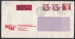 "AE194    Motiv Brief ""Selection Italianische Mobel"", Horgen, Expres To Parma Italy 1980 - Svizzera"