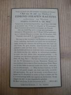 Waasmunster Lokeren Heiende Edmond Baetens 1855 1939 - Devotieprenten