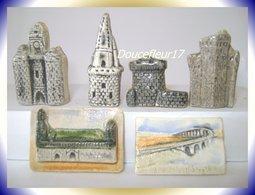 Monuments De La Rochelle .. 6 Fèves De Moulin à L'Huile ... (pan 0018) - Regions