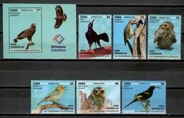 Cuba 2018 / Birds MNH Vögel Aves Oiseaux / Cu11300  C3 - Pájaros