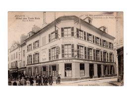 CPA 77 - Meaux - Hôtel Des Trois Rois , Rue St Rémy , Belle Animation - Meaux