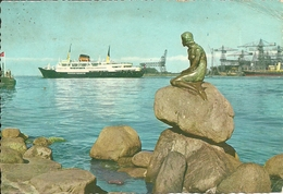 Copenhagen (Danimarca, Danmark) The Little Mermaid, La Petite Sirene, La Sirenetta - Danimarca