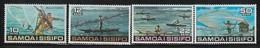 SAMOA - N°372/5 **  (1976) Pêches - Samoa