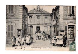 CPA 77 - Lizy Sur Ourcq - L'hôtel De Ville , Bien Animé - Lizy Sur Ourcq