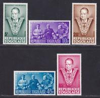 TOGO N°  457 à 460, AERIENS 49 ** MNH Neufs Sans Charnière, TB (D8451) Mort De Sir Winston Churchill -1965 - Togo (1960-...)
