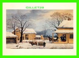 ARTS, PEINTURES - HOME TO THANKSGIVING BY G. H. DURRIE/J, SCHUTLER FOR CURRIER & IVES, 1867 - 1992 DOVER PUB. INC - - Peintures & Tableaux