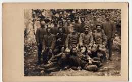 FOTO DI MILITARI - 1915 - ZIO STEFANO IN ALBANIA - Formato CM. 14 X 8,5 Circa - Vedi Retro - Guerra, Militari