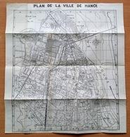 Plan De La Ville De Hanoi. - Hanoi : Service Cartographique Des F.T.É.O., 1952 - Wegenkaarten