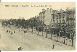 94 - NOGENT SUR MARNE / LA PLACE DU MARCHE - Nogent Sur Marne