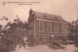 Beveren-Waas Kostschool Oud Geestelijk Hof Buitenzicht Der Kapel - Beveren-Waas
