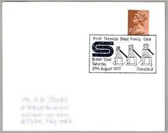 FIRST TEESSIDE STEEL FAMILY GALA - BRITISH STEEL. Cleveland 1977 - Fábricas Y Industrias