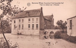 Beveren-Waas Kostschool Oud Geestelijk Hof Voor En Zijkant Van 't Klooster - Beveren-Waas