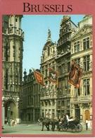 "Bruxelles (Brussel, Belgio) Hotel De Ville, Le Renard, Le Cornet, Stamp ""Ferrari 330P"" Spa-Francorchamps 1996 - Monumenti, Edifici"